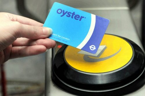 On the Move with contactless and Oyster